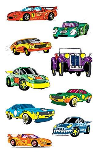 AVERY Zweckform 53882 Kinder Sticker Autos 27 Aufkleber