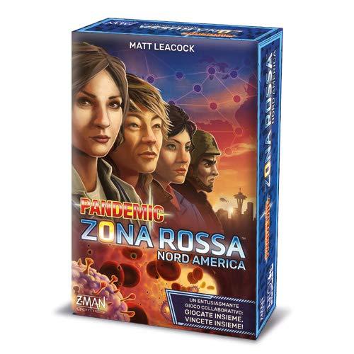 Asmodee- Pandemic Zona Rossa-Nord America-8398 Italia, 8398
