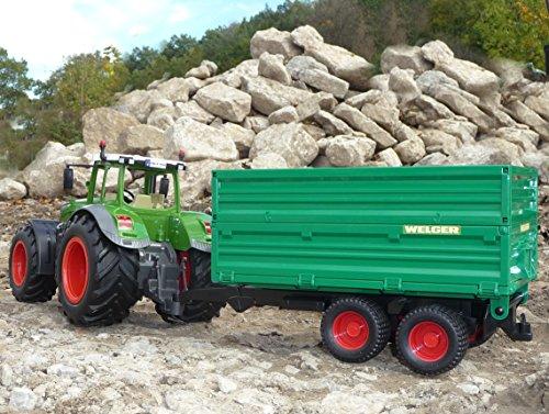 RC Auto kaufen Traktor Bild 4: WIM-Modellbau RC Traktor FENDT 1050 Anhänger in XL Länge 74cm Ferngesteuert*