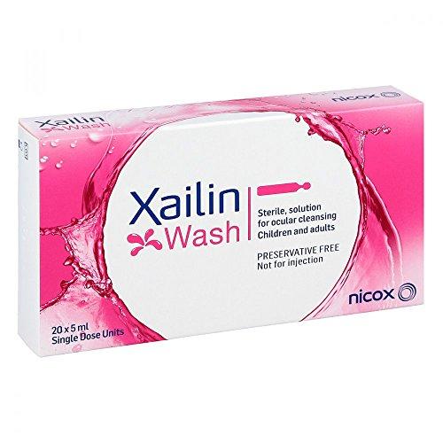 XAILIN Wash Augenspüllösung in Einzeldosen 20X5 ml