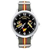 Reloj G&B Guardia Civil Correa Bandera España Verde Esfera Negra