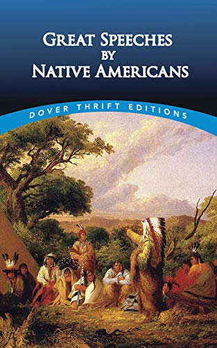 Compare Textbook Prices for Great Speeches by Native Americans Dover Thrift Editions First Edition Edition ISBN 0800759411221 by Bob Blaisdell