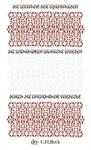 Die Weisheit der Upanishaden (dtv Fortsetzungsnummer 31, Band 34379)