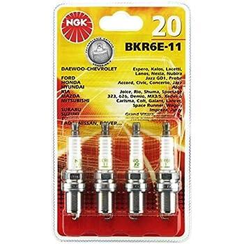 4 x Zündkerzen BKR6E-11 NGK 2756