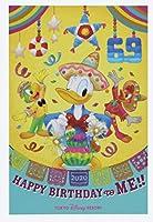 ディズニー ハッピーバースデー ドナルド(ドナルドダック)ポストカード 誕生日 2020 6月9日はドナルドダックのお誕生日! 東京ディズニーリゾート限定 TDR