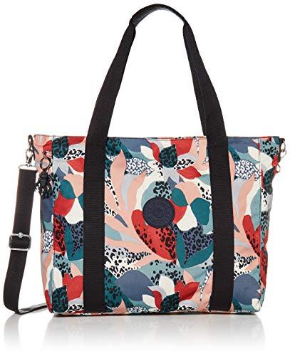 Kipling Women's Asseni Tote Bag, urban Jungle Red, One Size