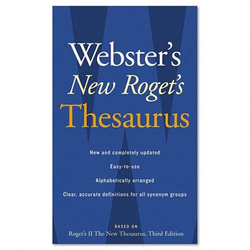 Houghton Mifflin Roget 's II: The New Thesaurus, 3Red Edition, Paperback, 544Seiten (0618955925)