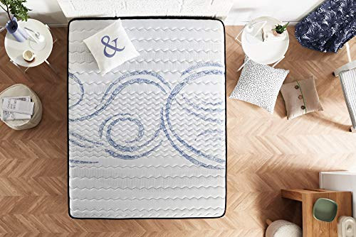 Naturalex matras van schuimrubber - idealslaep - 100% kern H.R Blue Latex - ondersteuning Aquapur ademend - 16 cm - 180 x 200 cm 140 x 190 cm