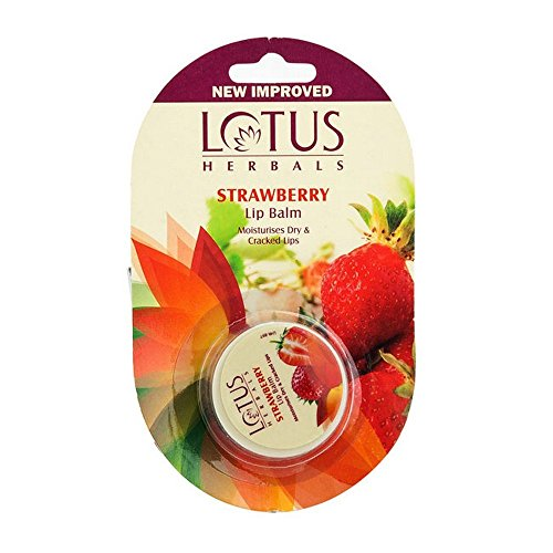 Lotus Herbals Lip Balm Strawberry