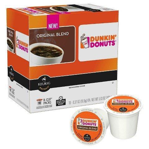 Dunkin' Donuts Original Blend KCUP, Medium Roast 54 Count ,Dunkin-ukjg