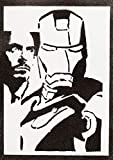Iron Man Poster The Avengers Plakat Handmade Graffiti Street Art - Artwork