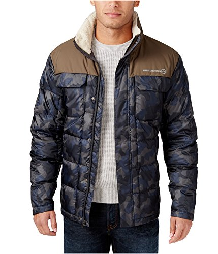 Free Country Men's Camo Puffer Down Jacket
