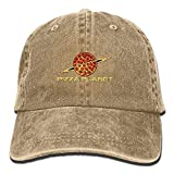 uykjuykj Baseball Caps Hats Pizza Planet Washed Retro Denim Hat Sport Hat for Women and Men Adjustable Unique Personality Cap