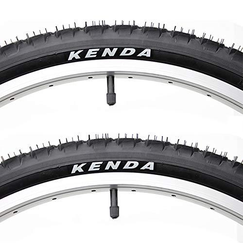 DUXIUYING 24/26 × 1.95, 26 × 2.1 Neumático 2 Pcs para Bicicleta De Carretera, Montaña, Barro, Suciedad, Bicicleta Todo Terreno,26 * 2.1