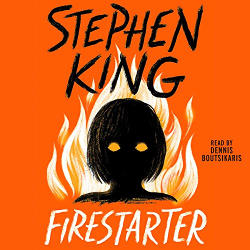 Firestarter audiobook cover art