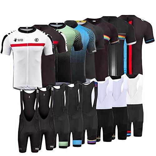 Uglyfrog 2017 Fahrrad Trikot Bike Jersey+ Shorts atmungsaktiv Reiten Jacke Hose für Outdoor Radfahren DXHB01