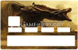 Deco-idees Sticker pour Carte bancaire, Game of Thrones, Edition limitée 300 ex. -...