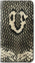RW2711 King Cobra Snake Skin Graphic Printed PU Leather Flip Case Cover for iPhone 11 Pro Max