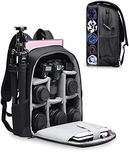 CADeN Camera Backpack Bag with Laptop Compartment 14 for DSLR SLR Mirrorless Camera Waterproof product image