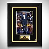 RARE-T Family Feud Steve Harvey Photo Limited Signature Edition Studio Licensed Custom Frame - Platinum