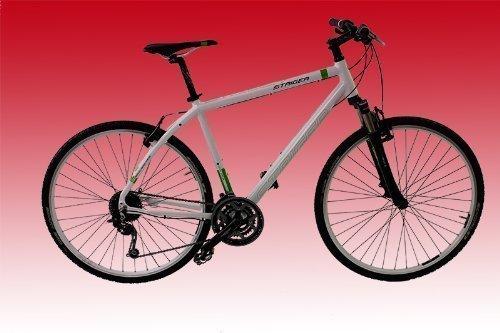 Staiger Daytona Herren Crossrad Modell 2012 - Fahrrad RH 56 - 27-Gang Shimano snowwhite (RH 56 cm)