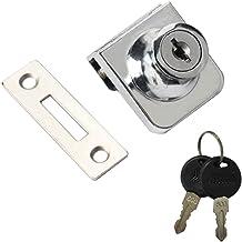 Amuzocity Heavy Duty Showcase Showcase Lock glazen deurslot - 35x32mm B