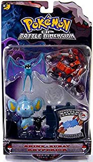 Pokemon Diamond and Pearl Series 10 Basic Figure 3-Pack Shinx, Zubat and Rhyperion