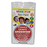 Snazaroo - Pintura para la cara no tóxica 18 ml (41 Colores) (Talla Única/Turquesa)