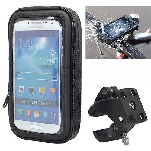 Ibroz Imoove - Soporte universal para moto, scooter o Tmax Soporte para manillar de bicicleta con fu