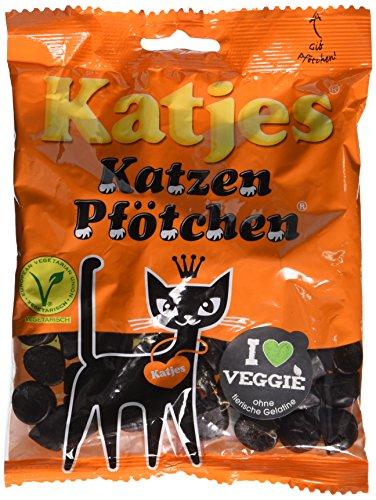 Katjes - Katzen-Pfštchen - Lakritz - 200g
