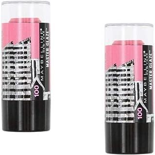 Pack of 2 Maybelline New York Face Studio Master Glaze Blush Stick, 100 Pursuit of Pink