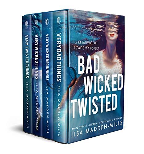 BAD WICKED TWISTED: A Briarwood Academy Box Set (Books 1-4 + Bonus Chapters) (English Edition)