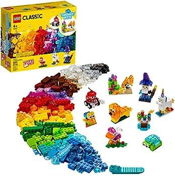 LEGO Classic Creative Transparent Bricks 11013 Building Kit