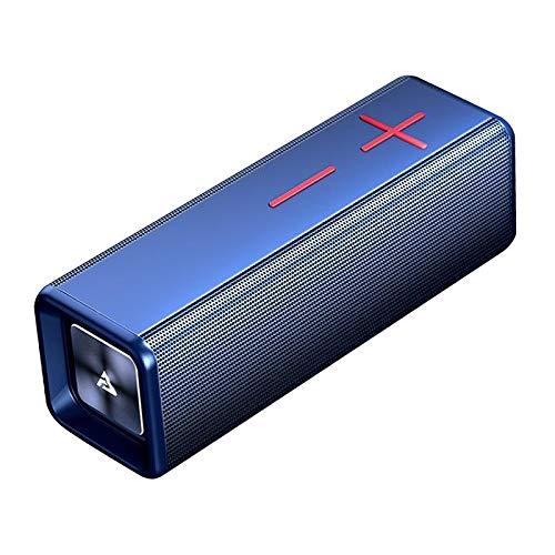 Gazechimp Subwoofer Barra de Sonido HiFi Altavoz Boombox Bluetooth Altavoces de música portátil Caja de Altavoz USB Gama Completa portátil inalámbrica - Azul