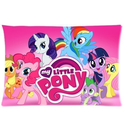 Cartoon My Little Pony Custom Rectangle Pillow Cases 2030 inches (one side) Friendship is Magic Children/kids Favorite