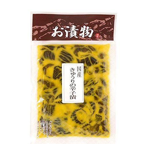 国産 きゅうりの辛子漬 160g