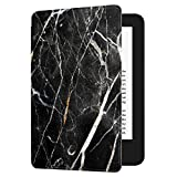 Huasiru Painting Case for All-new Kindle (10th Gen - 2019 release only—will not fit Kindle Paperwhite or Kindle Oasis), Marble Black
