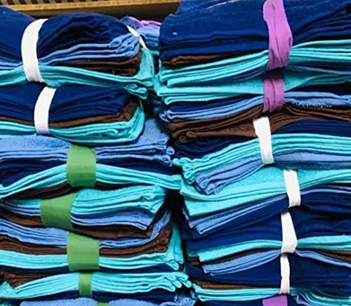 Lotes de Toallas - Sabanas Hosteleria - Restos de Stock Purpura Home 500 gr. algodón Peinado, 100% algodón Toallas de baño | Manos, Cara, Gimnasio y SPA (Pack 12 Unidades, Tocador 30 x 50)