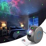 Langguth Proyector de luz LED de estrellas, proyector de cielo estrellado con mando a distancia/luz nocturna, efecto nebula