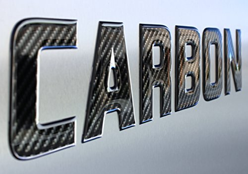 Carbon Fiber Series Lettering Boat Registration Numbers and Letters