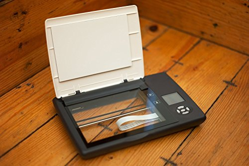Doxie Flip - Cordless Flatbed Photo & Notebook Scanner w/Removable Lid