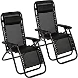 HCB Zero Gravity Chair Patio Folding Lawn Lounge Chairs Outdoor Lounge...