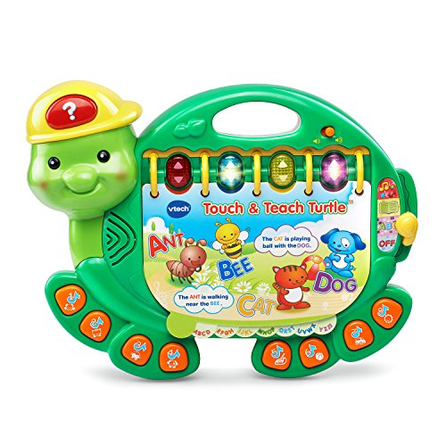 Check Out This VTech Touch and Teach Turtle Book