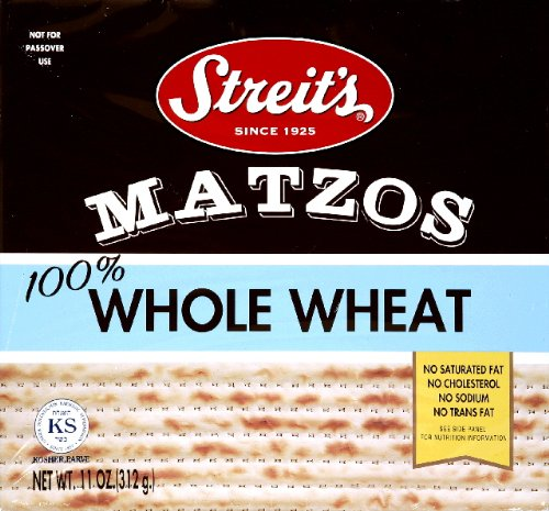 Max 49% OFF Matzo New arrival Whole Wheat Pack 12 of