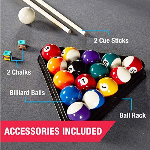 MD Sports Billiard Table Set