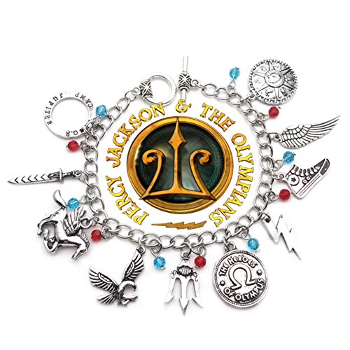 Halloweeen Costume Cosplay Prop Jewelry Collection (Percy Jackson Charm Bracelet)