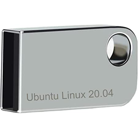 ILamourCar Ubuntu Linux 20.04 Latest Version - 2020 16GB USB Flash Drive   English Version - Silver