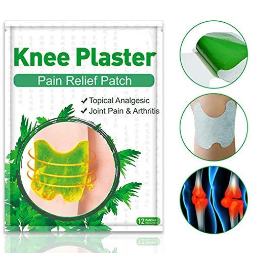 Fanspack 12 Stück Schmerzlinderungspad Praktisches Pflaster Zur Schmerzlinderung für Das Knie