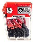 Milwaukee MW4932430855 Expositor Shockwave Ph2 50Mm (10Uds)