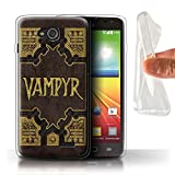 Phone Case for LG L90/D405 Vampire Slayer Vampyr Book